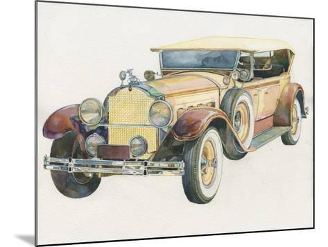 Retro Mobile-ZPR Int'L-Mounted Giclee Print