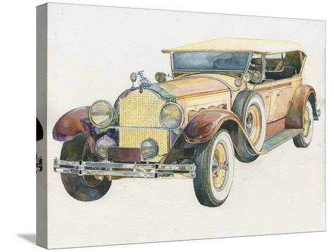 Retro Mobile-ZPR Int'L-Stretched Canvas Print