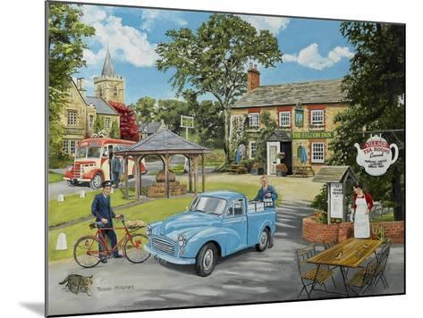 The Village Tea Rooms-Trevor Mitchell-Mounted Giclee Print