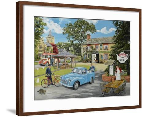 The Village Tea Rooms-Trevor Mitchell-Framed Art Print