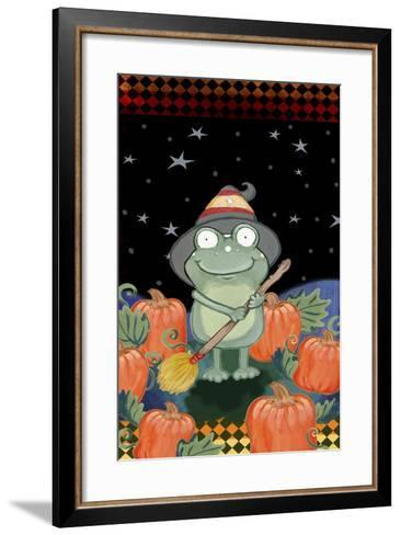 In the Pumpkin Patch-Valarie Wade-Framed Art Print