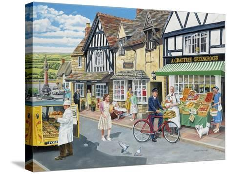 Letters for the Greengrocer-Trevor Mitchell-Stretched Canvas Print