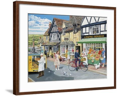 Letters for the Greengrocer-Trevor Mitchell-Framed Art Print