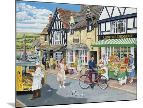 Letters for the Greengrocer-Trevor Mitchell-Mounted Giclee Print