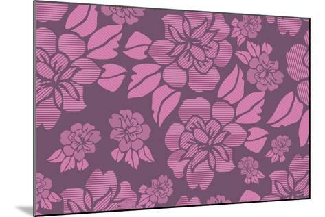 Floral Pattern-Whoartnow-Mounted Giclee Print