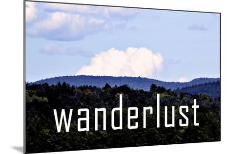 Wanderlust-Vintage Skies-Mounted Giclee Print