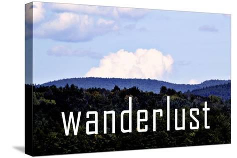 Wanderlust-Vintage Skies-Stretched Canvas Print