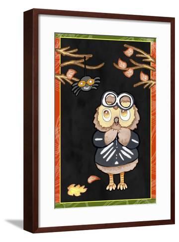I Spy a Spider-Valarie Wade-Framed Art Print