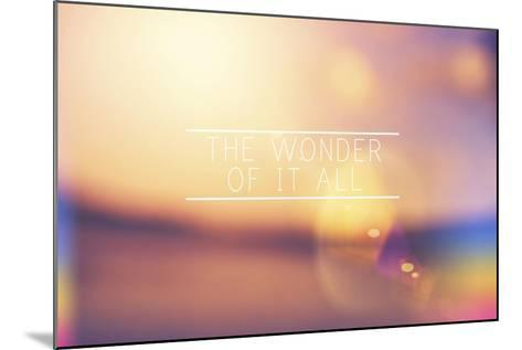 The Wonder-Vintage Skies-Mounted Giclee Print