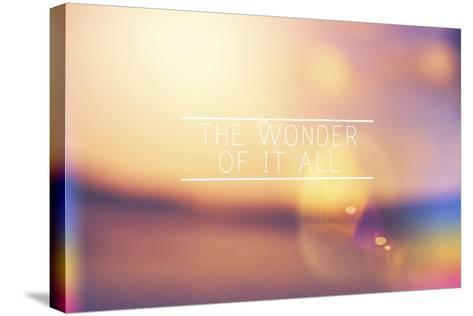 The Wonder-Vintage Skies-Stretched Canvas Print