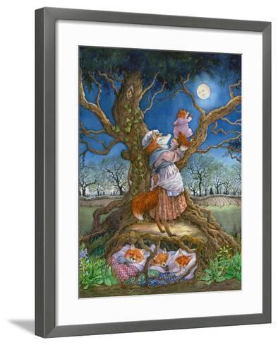 Promising the Moon-Wendy Edelson-Framed Art Print