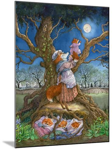 Promising the Moon-Wendy Edelson-Mounted Giclee Print