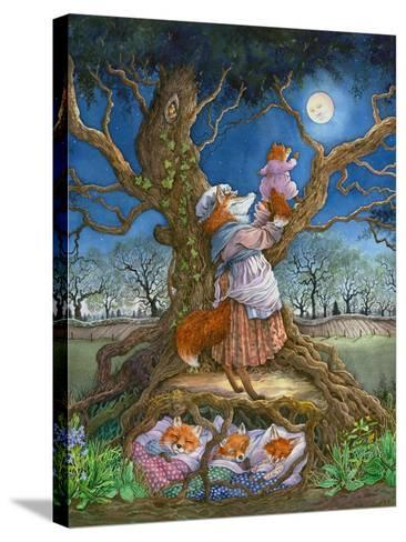 Promising the Moon-Wendy Edelson-Stretched Canvas Print