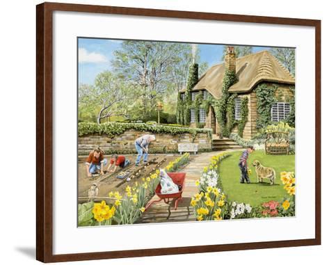 Spring-Trevor Mitchell-Framed Art Print