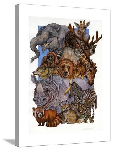 Mammals-Wendy Edelson-Stretched Canvas Print