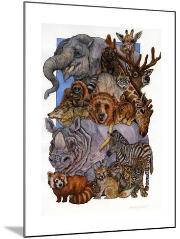 Mammals-Wendy Edelson-Mounted Giclee Print