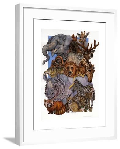 Mammals-Wendy Edelson-Framed Art Print