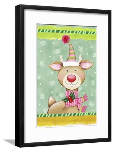 Sweetie Deer-Valarie Wade-Framed Art Print