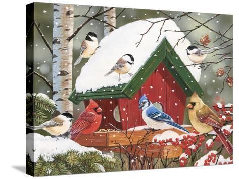 Wintry Feast-William Vanderdasson-Stretched Canvas Print