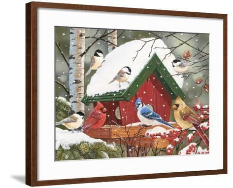 Wintry Feast-William Vanderdasson-Framed Art Print