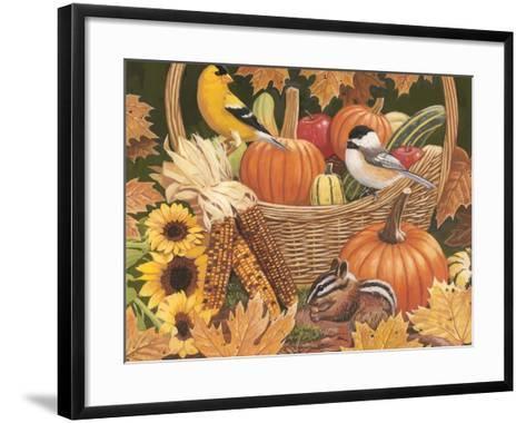 Harvest Basket-William Vanderdasson-Framed Art Print