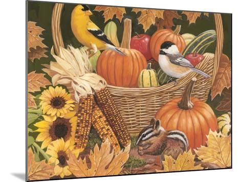 Harvest Basket-William Vanderdasson-Mounted Giclee Print