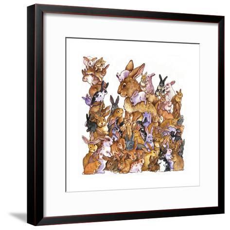 Bunnies-Wendy Edelson-Framed Art Print