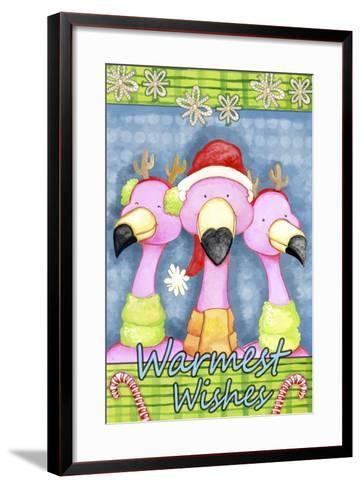 Flamingo Party-Valarie Wade-Framed Art Print