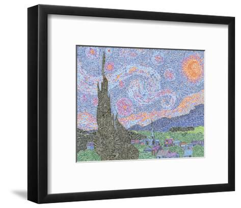 A Night to Remember-Viz Art Ink-Framed Art Print