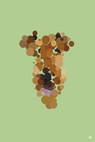 Gaston 01-Yoni Alter-Stretched Canvas Print