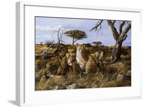 Lazy in the Grass-Trevor V. Swanson-Framed Art Print