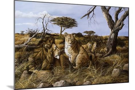 Lazy in the Grass-Trevor V. Swanson-Mounted Giclee Print