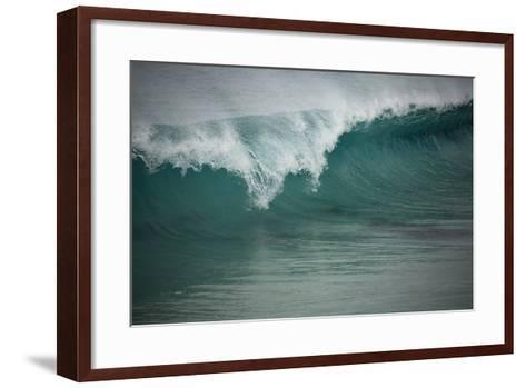 Asia, Australia Tasmania Friendly Beach Breakers-John Ford-Framed Art Print