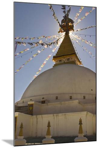 Dhodina Chorten Is Modeled on the Stupa of Boudhanath. Thimphu, Bhutan-Howie Garber-Mounted Photographic Print