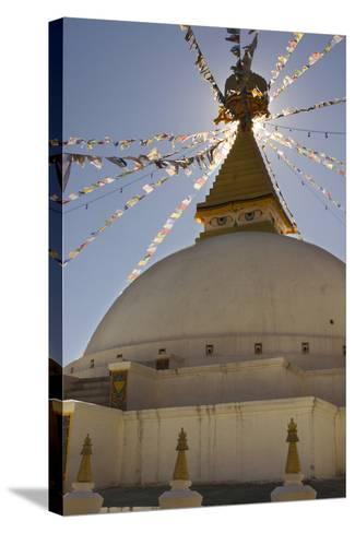 Dhodina Chorten Is Modeled on the Stupa of Boudhanath. Thimphu, Bhutan-Howie Garber-Stretched Canvas Print