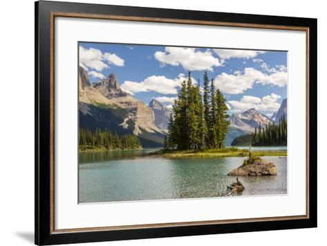 Canada, Alberta, Jasper National Park, Maligne Lake and Spirit Island-Jamie & Judy Wild-Framed Art Print