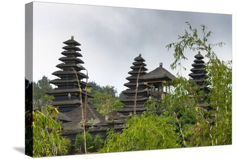 Mother Temple of Besakih, Bali, Indonesia-Keren Su-Stretched Canvas Print