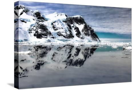 Antarctica. Scenic View of Lemaire Channel-Janet Muir-Stretched Canvas Print