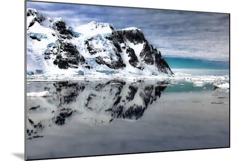 Antarctica. Scenic View of Lemaire Channel-Janet Muir-Mounted Photographic Print