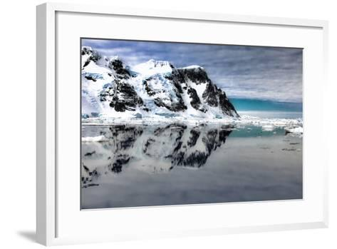Antarctica. Scenic View of Lemaire Channel-Janet Muir-Framed Art Print