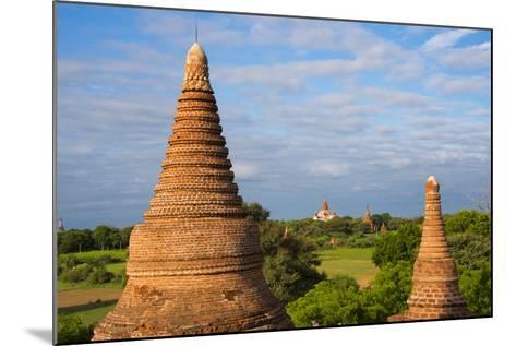 Ancient Temples and Pagodas, Bagan, Mandalay Region, Myanmar-Keren Su-Mounted Photographic Print