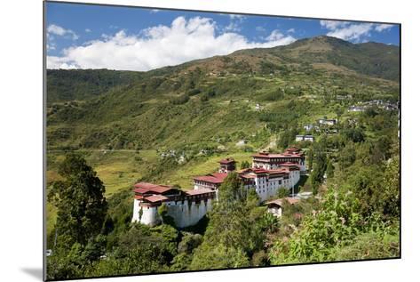 Tongsa Dzong, Buddhist Monastery and Fortress, in Tongsa, Bhutan-Peter Adams-Mounted Photographic Print