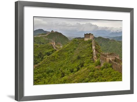 The Great Wall of China Jinshanling, China-Darrell Gulin-Framed Art Print