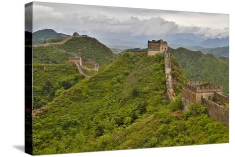 The Great Wall of China Jinshanling, China-Darrell Gulin-Stretched Canvas Print