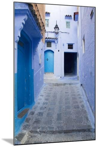 Chefchaouen, Morocco. Narrow Alleyways for Foot Traffic Only-Emily Wilson-Mounted Photographic Print