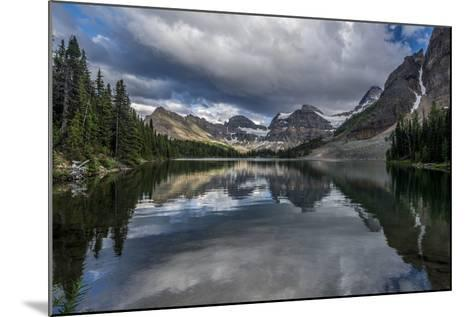 Sunburst Lake, Mt Assiniboine Provincial Park, Alberta, Canada-Howie Garber-Mounted Photographic Print