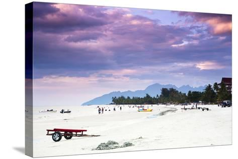 A Beautiful Day at Cenang Beach on Langkawi, Malaysia-Micah Wright-Stretched Canvas Print