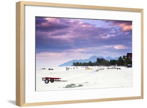 A Beautiful Day at Cenang Beach on Langkawi, Malaysia-Micah Wright-Framed Art Print