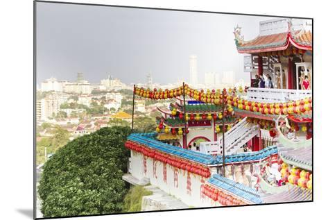The Fantastic Lighting of Kek Lok Si Temple in Penang, Malaysia-Micah Wright-Mounted Photographic Print
