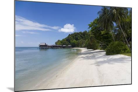 Tropical Beach, Palau Pangkor Laut, West Coast, Malaysia-Peter Adams-Mounted Photographic Print